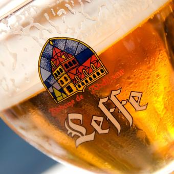 Thùng bia Leffe Blonde 24 chai x 330ml