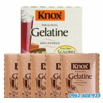 Bột Gelatine Knox nhập khẩu Mỹ combo 5 gói