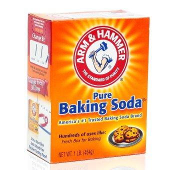 Bộ baking soda đa công dụng Arm & Hammer 454gr và vĩ 4 viên xả thơm toilet Bref Power Active Mỹ