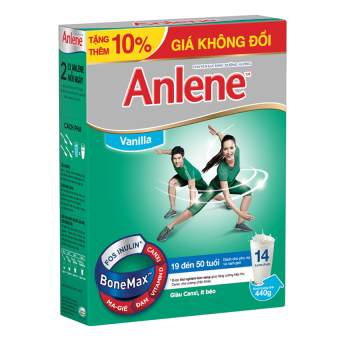Anlene Bonemax Vanilla 440g (Hộp)