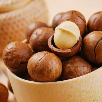 Hạt Mắc Ca Macadamia Nứt Vỏ 500g (Nhập Úc)