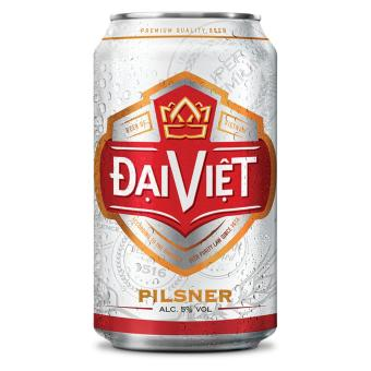 Bia Pilsner Đại Việt - thùng 24 lon x 330ml