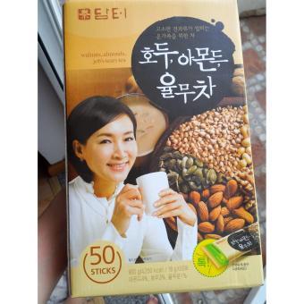 Bột ngũ cốc dinh dưỡng hạt óc chó hạnh nhân Hàn Quốc Damtuh (18g x50 gói)