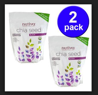 Bộ 2 gói Hạt Chia đen Nutiva Organic 907g