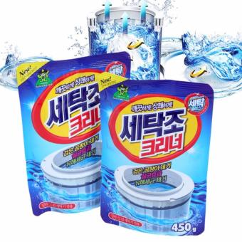 Bộ 2 bột tẩy vệ sinh lồng máy giặt