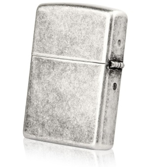 Bật Lửa Zippo Antique Silver Plate Lighter