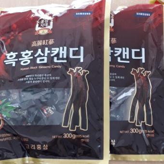 Combo 2 gói Kẹo hắc sâm Korea black ginseng (300gr/ gói)