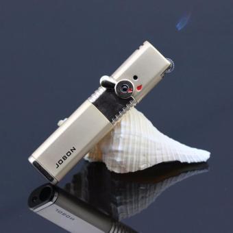 Bật lửa ma trơi có khóa an toàn Jobon F174 (Bạc)