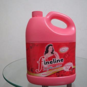 Nước xả vải Fineline Thái Lan 3600ml + Tặng kèm một bánh xà bông LUX Thái Lan