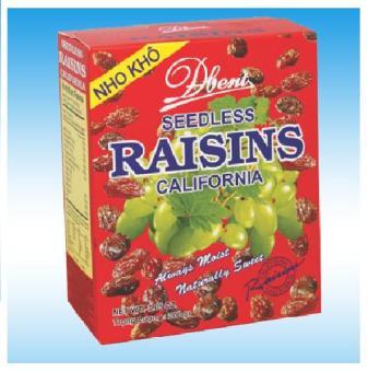 Nho Khô Debent Seedless Raisins Carliforlia 150gr