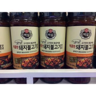 Nước Sốt Ướp Sườn Heo BBQ Hàn Quốc 500g