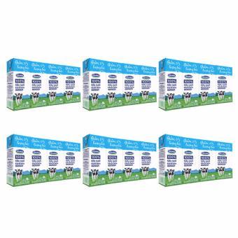 Bộ 6 Lốc Sữa tươi tiệt trùng Vinamilk 100% Tách béo không đường 4 hộp x 180ml