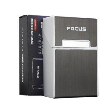 Hộp đựng bao thuốc lá Focus (Đen)