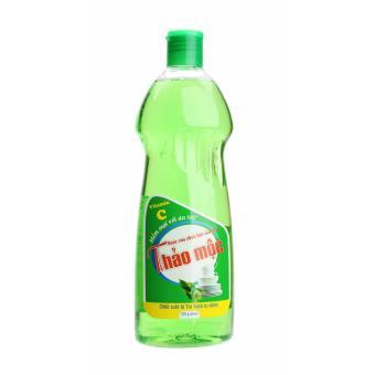 Nước rửa chén bát sinh học tinh chất trà xanh Thảo mộc 500ml