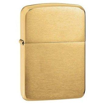 Bật Lửa Zippo Brass Vintage (Vàng)