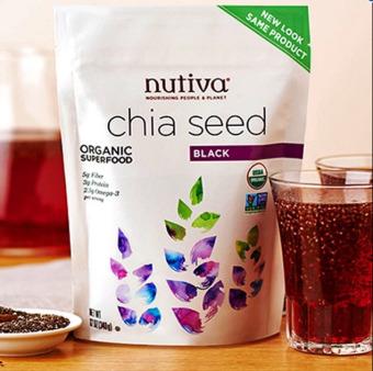 Hạt Chia đen Nutiva Organic từ Mỹ 907g