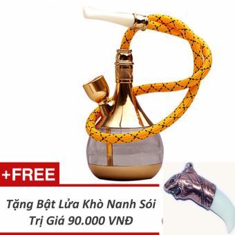 Tẩu Lọc Thuốc Zobo Zb 505 + Tặng Bật Lửa Khò Nanh Sói