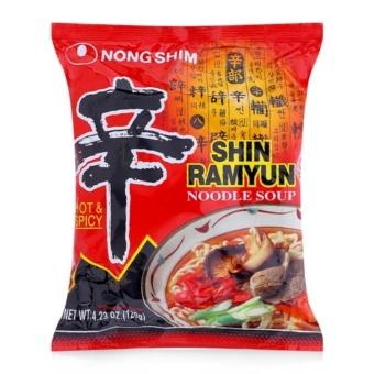Combo 5 Gói Mì Shin Ramyun Nongshim gói 120g