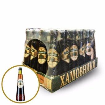 Bia Nga Hamovniki Export thùng 24 chai x 330ml