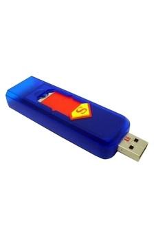 Bật Lửa Không Dùng Gas Hình USB (Xanh)