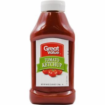 Great Value sốt cà ketchup nhập từ Mỹ - 1.33kg