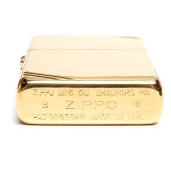 Bật Lửa Zippo Brass Nguyên Khối Bản Giới Hạn (Vàng đồng) + Tặng tim và đá zippo cao cấp