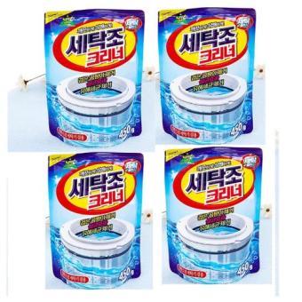 Bộ 4 gói bột tẩy vệ sinh lồng máy giặt 450g cao cấp Hanghot365