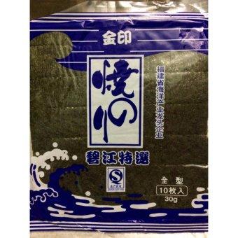03 Gói Rong Biển Hàn Quốc Chính Hãng (10 lá/gói)