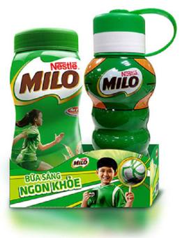 Sữa Bột Nestle Milo 400g + Tặng 1 bình thể thao