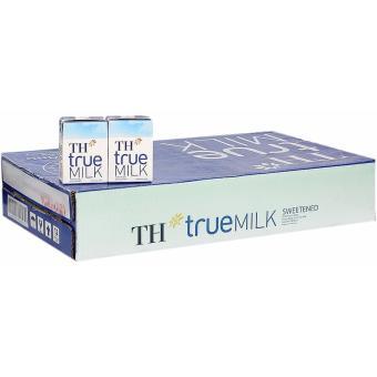 Bộ 48 Hộp Sữa Tươi Tiệt Trùng TH True Milk Có Đường 110ML