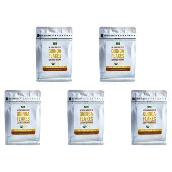 Bộ 5 túi Diêm Mạch mảnh hữu cơ Hola Andina 200g