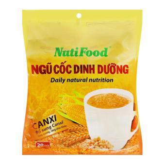 Ngũ cốc dinh dưỡng bổ sung canxi NutiFood gói 500g