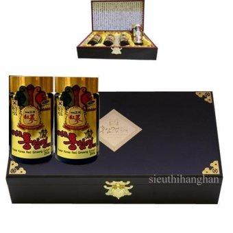 Cao hồng sâm Núi NK Hàn Quốc Thượng Hạng 250g x 4 (Hộp gỗ)