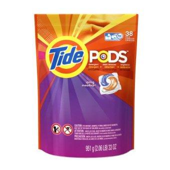 Viên giặt đa chiều Tide Pods dành cho máy giặt 38 viên