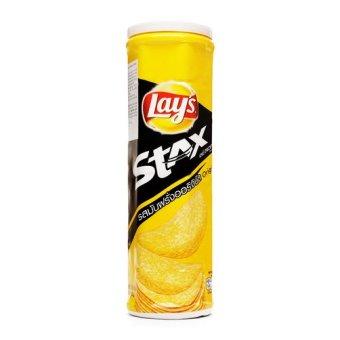 Snack khoai tây Lay's Stax vị tự nhiên lon 100g