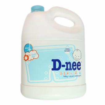 Nước giặt xả quần áo trẻ em D- nee Lovely Sky 3000ml Thái Lan + Tặng kèm bánh xà bông LUX