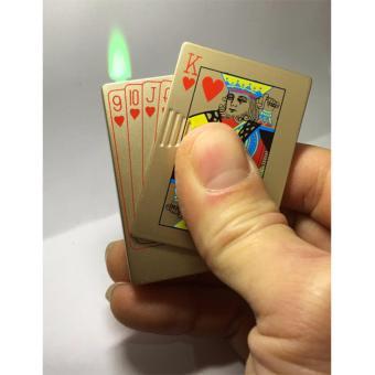 Bật lửa dùng gas hình lá bài K cơ
