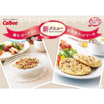 Ngũ cốc dinh dưỡng sấy khô dạng hạt cao cấp Calbee Fruit Granola Cereal 800g