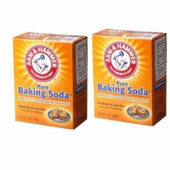 Hai Hộp bột nở, muối nở Baking Soda đa công dụng 454g