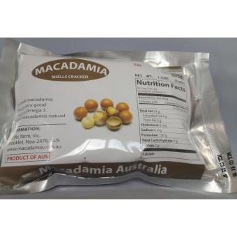 Bộ 8 gói Hạt mắc ca Macadamia nứt vỏ 500g (nhập Úc)