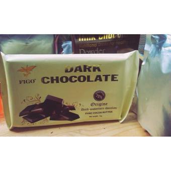 Chocolate làm bánh 75% cacao Figo 500gram