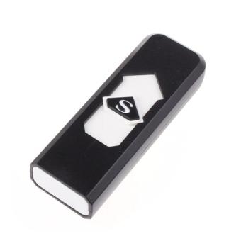 Bộ 10 Bật Lửa Không Dùng Gas Hình USB USA Store (Đen)