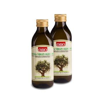 Bộ 2 chai dầu Oliu Extra Virgin OiliO 500ml