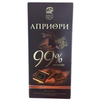 Chocolate đắng 99% Aupuo thanh 100gr