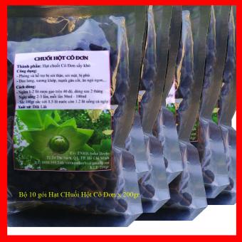 Chuối Hột Cô Đơn - Bộ 10 Gói