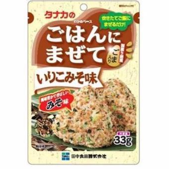 Gia vị rắc cơm vị miso Tanaka 33gr