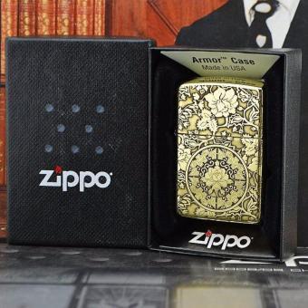 Bật Lửa Zippo Hoa Mẫu Đơn