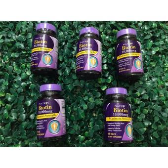 Vitamin hỗ trợ mọc tóc Biotin Natrol 10.000mcg