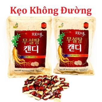 Bộ 2 gói Kẹo Hồng sâm Hàn Quốc không đường 500g