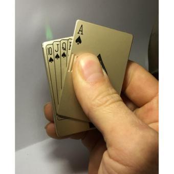 Bật Lửa kiểu dáng lá bài át bích